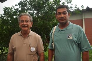 Nilton de Menezes (esq.) e Geraldo José (direita)